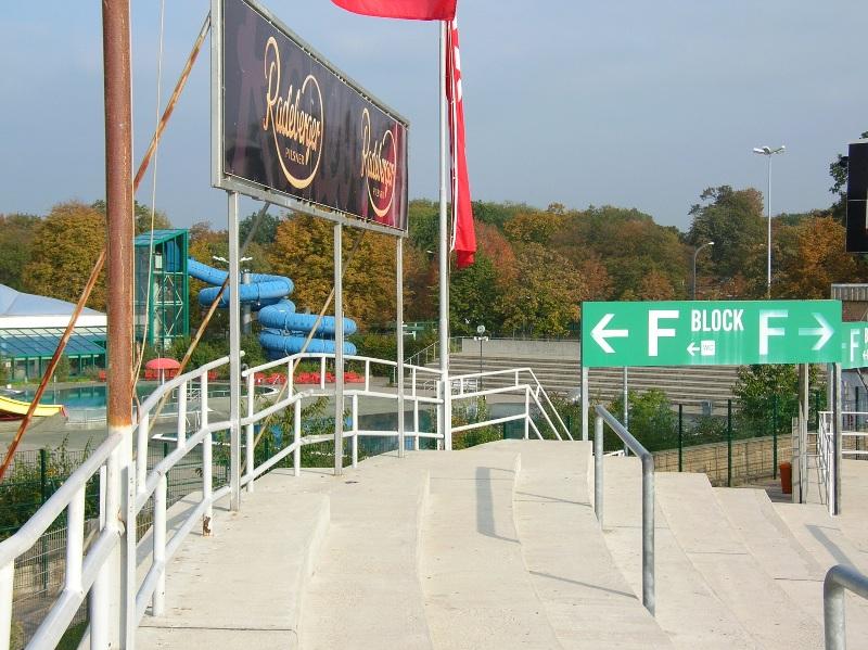 Pedestal Fans Blocking : Dynamostadion oktober